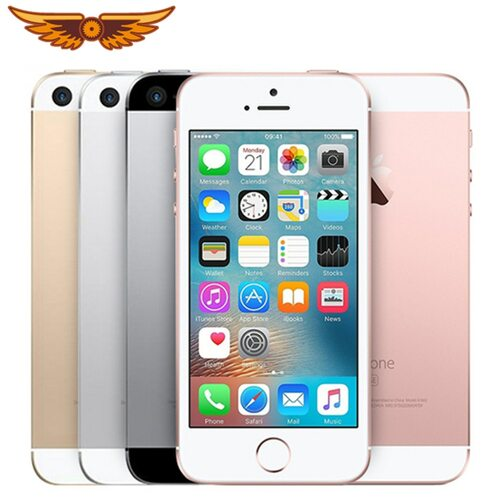 Apple iPhone SE Original Dual Core 4.0 Inches 2GB RAM 16/64GB ROM12MP iOS Fingerprint Touch ID Sealed Cellphone