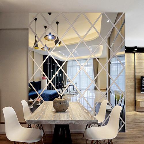 2019 new arrival DIY LOVE 3D Stickers Mirror Sticker Home Livingroom Decoration #30