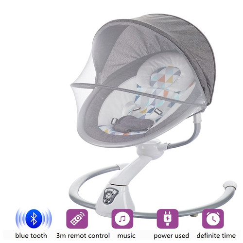 Free Shiping Multifunctional baby electric rocking chair baby cradle chair newborn comfort chair shaker swing chair baby nest
