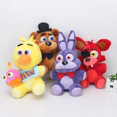 25 Cm FNAF Toys Five Nights At Freddy Plush Toy Freddy Bear Foxy Toys Children Gift Toys