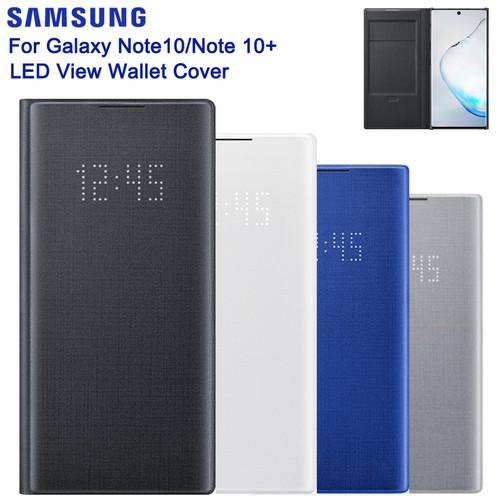 Samsung Original Smart LED View Wallet Case For Samsung Galaxy Note 10 Note10 Note X Note 10 PLUS Wallet Flip Phone Cover