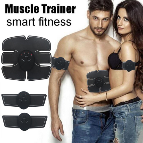 Gym Electric Muscle Stimulator Abdominal Muscle Exerciser Body Training Slimming Machine Fat Burning Fitness Exercises Trainer