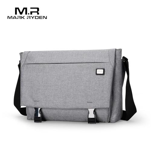 Mark Ryden Men's Bag Canvas Shoulder Bag For 12.9inch Ipad Casual Crossbody Bag Waterproof Business Shoulder bag for men