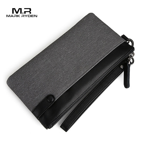 Mark Ryden Men's Wallet Thin Slim Wallet long Male Clutch Mens Wallets Hand Purse Pocket Cartera Hombre Billetera Hombre