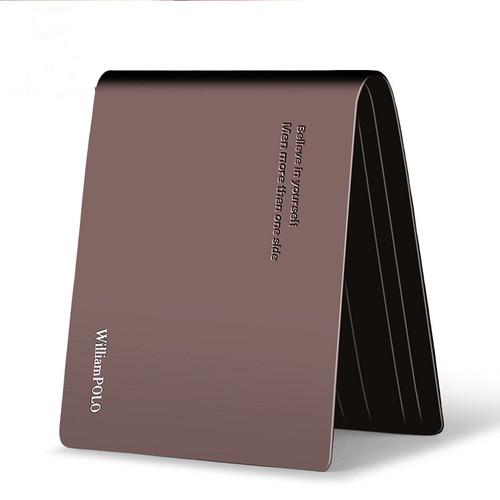 New Men Short Wallets Black Brown Bifold Wallet Mens Brand Leather Card Holder Money Cash Wallet Purses Pockets PL171321