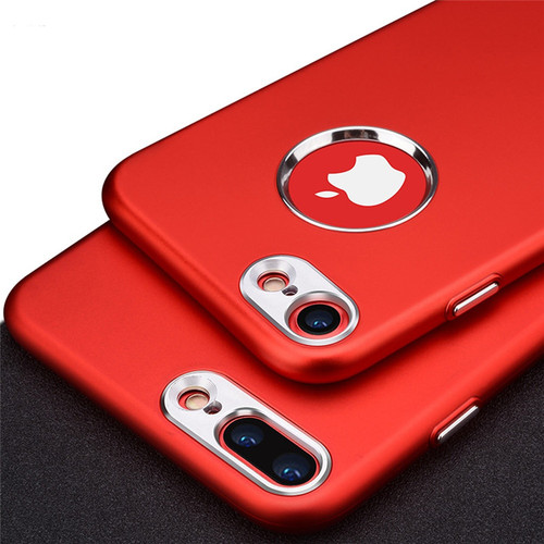 Luxury Matte Case for iPhone 6 6s 7 8 Plus Shockproof Rubber Silicone TPU Soft Case Cover for iPhone X 8 7 6 6s Plus Phone Bag