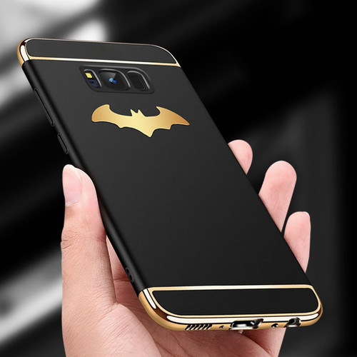 3 in 1 Plating PC Batman Shockproof Case For Samsung Galaxy Note 9 8 S8 S9 S10 Plus S10e iPhone XS Max X 8 7 6S Plus Cover Cases
