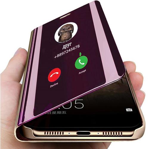 Smart Mirror Phone Case For Xiaomi Redmi Note 8 7 K20 5 6 Pro 4X 8A 7A 5 Plus Mi Note 10 A3 9 SE 9T Pro 8 Lite A1 A2 CC9e Cover