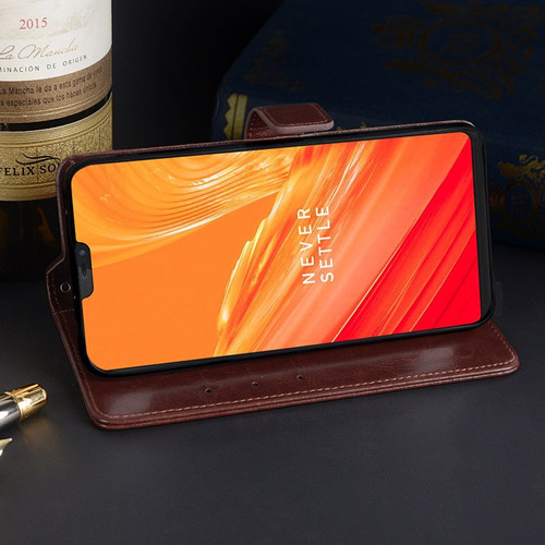 Oneplus 6 Case 1+6 6.28 inch Business Style Wallet Leather Flip Phone Fundas Cover For One Plus 6 SIX A6000 Case Accessories