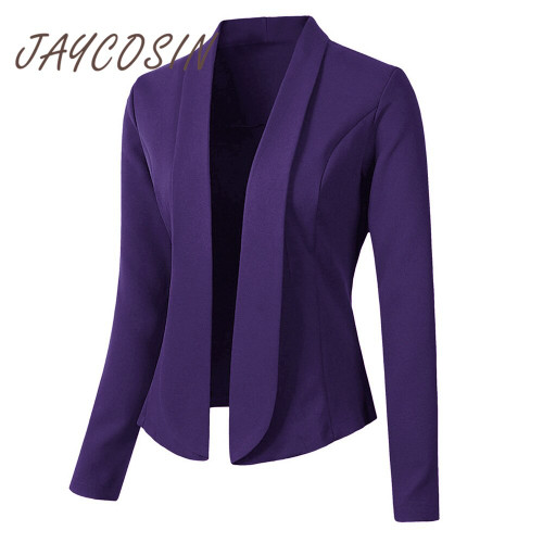 JAYCOSIN Clothes ladies Office Wear Cardigan Coat long sleeve jackets women long coat Blazer Tops 2019 autumn spring coat women