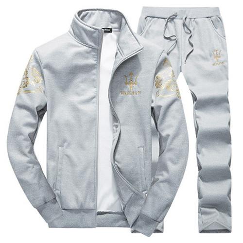 Stone Dropshipping Large Size Men suit trade uniform men's long sleeved cashmere sweatshirt cardigan leisure Harajuku island