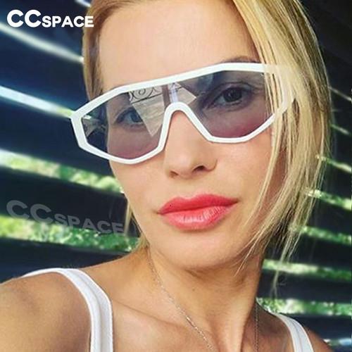 48038 Oversized One Lens Goggle Sunglasses Men Women Fashion UV400 Glasses