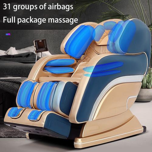 S7 Luxury Massage Chair SL track 140cm Office ChairZero Gravity Massage ChairFull Body Massage Sofa Newest Technology