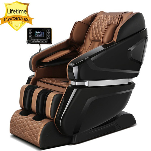 S6 Paint baking luxury smart massage chair 3D robot 145cm curved rail zero massage sofa zero gravity office chair