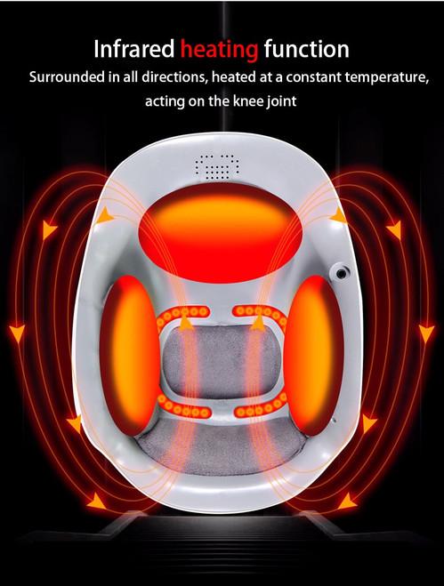 Laser heated air massage knee rheumatoid arthritis physiotherapy instrument knee massage rehabilitation pain relief