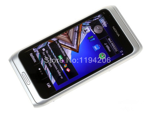 Nokia E7 GSM 4.0 inch Touchscreen 8MP Camera GPS WIFI Original Unlocked Mobile Phones Free shipping