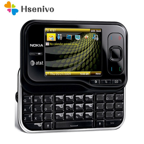 6790 Original Unlocked Nokia 6790 Surge Mobile Phone 2.4 inch 3G With Bluetooth A-GPS FM Radio cellphone Free Shipping