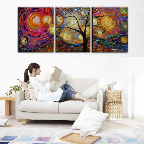 DONGMEI OILPAINTING Hand painted oil painting home decor painting pictures DM10022