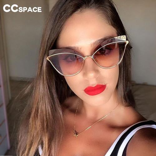 Cat Eye Personality Luxury Sunglasses Men Women 2019 Fashion Shades UV400 Vintage Glasses 47959