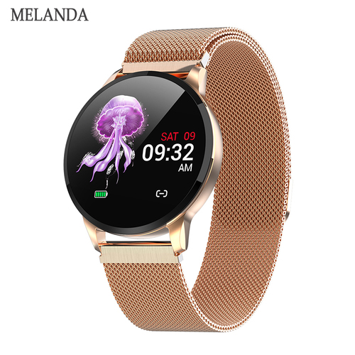 2019 New Fitness Smart Watch Women Running Heart Rate Monitor Bluetooth Pedometer Touch Intelligent Sports Smartwatch Women Men