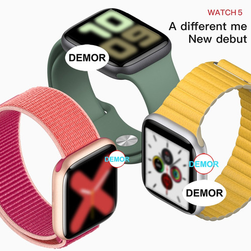 2020 DEMOR IWO 12 Smart Watch 44mm 40mm Heart Rate Monitor Men Women Smartwatch for Apple iOS 9 13 iPhone 11 5 8 X Android Phone
