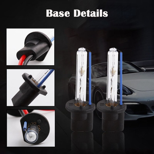 Xenon Kit H7 H1 H3 H8 H11 HB3 9005 HB4 9006 H27 880 881 55W 12V Car Headlight Bulbs 3000K 43