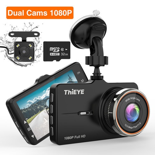 ThiEYE Dash Cam  Car DVR Dash Camera Real HD 1080P 170 Wide Angle Dashcam With G-Sensor Parking Mode car Camera Recorder