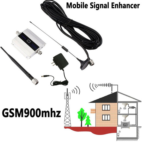 900Mhz GSM 2G/3G/4G Signal Booster Repeater Amplifier Antenna For Mobile Phone,900MHz GSM Amplifier + Antenna, US/EU/UK Plug