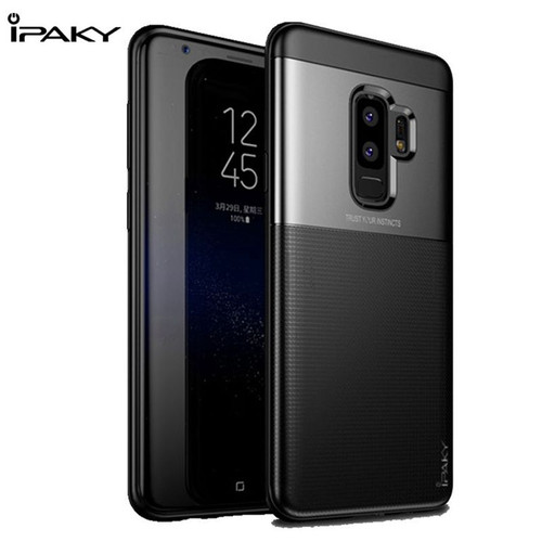 IPAKY Anti Knock TPU Case For Samsung Galaxy S9 Luxury Ultra Thin Smooth Soft Silicone Cover For Samsung S9 Plus Case Capa Coque