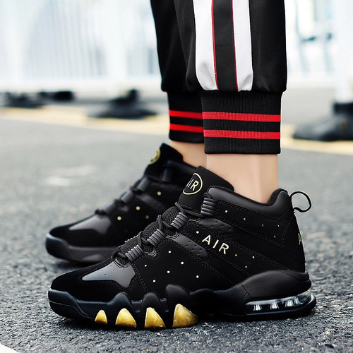 Basketball Shoes Men High-top Sports Cushioning Jordan Basketball Athletic Mens Shoes Comfortable Breathable Retro Sneakers