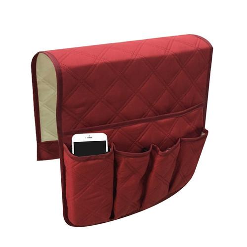 Remote Control Caddy Arm Chair Holder Storage Organizer Armrest Couch Pocket Sofa Organizer 5 Pocket Couch Arm Rest 90x32cm