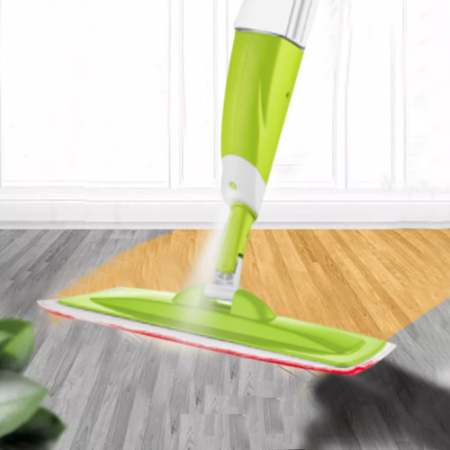 Spray Mop With 3 PCS Cleaning Cloth Head Combination For Wooden Floor Ceramic Tile Automatic Mop Wet Or Dry Home Cleaning Tools