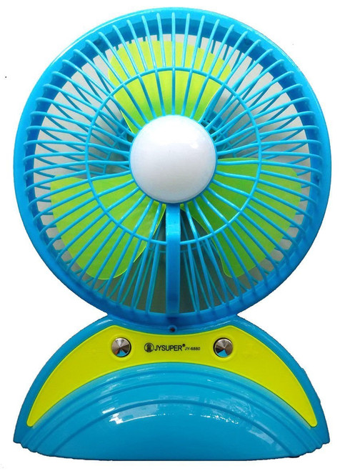 XHAIDEN JY 6880 Portable Table Fan with LED Light