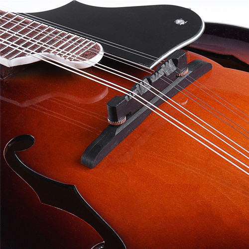 39'' Sunset F-Model Mandolin 8 Strings Concert Ukulele Bass Guitar with Ukulele Case For Musical Stringed Instrument Lovers Gift