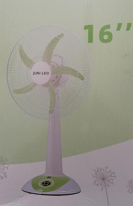 """Juneleo JL-5936DC AC/DC mini pedestal fan 16"""""""