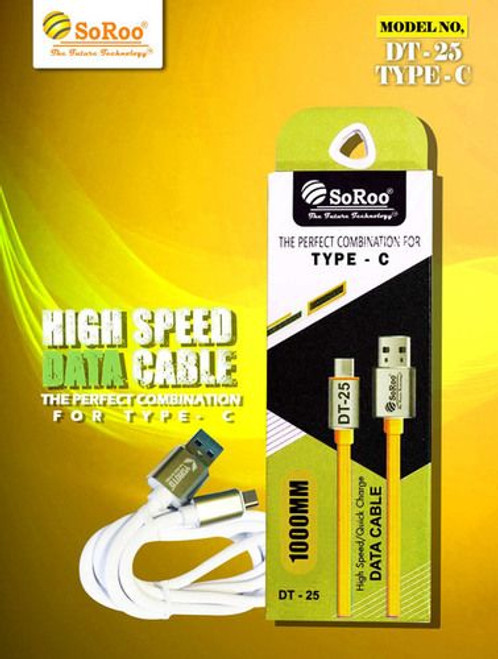 SoSoo Type -C Data Cable (DT - 25 Type C)