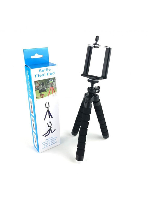 Selfie Flexi Pod - Camera Tripod/Selfie Stick Suitable for All Mobile Phones