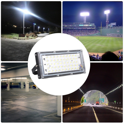 AC175-265V Portable 50W Energy Saving Outdoor Project-Light Lamp
