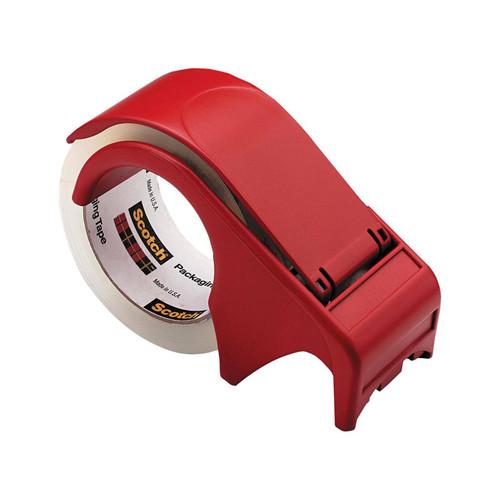 3m Scotch Tape Dispenser Dp300rd Red Plastic Hand Held