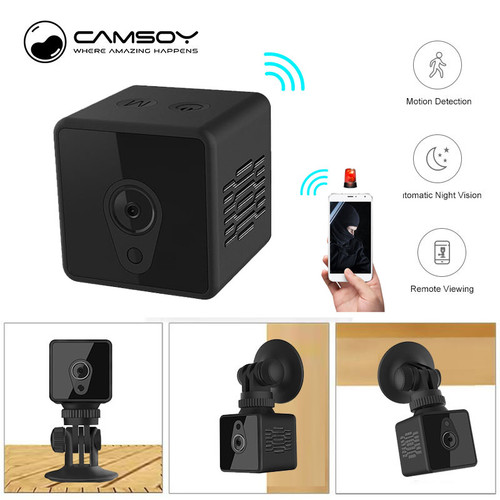 S1 Mini Home Security IP Camera Wi-Fi Wireless Mini Network Camera Surveillance Wifi 720P Night Vision Camera Baby Monitor