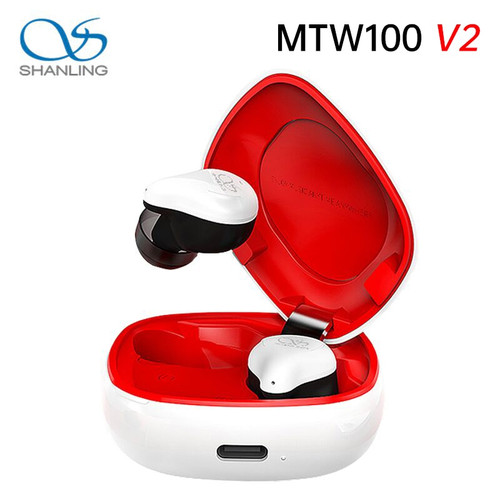 Shanling MTW100 V2 Wireless Earphone TWS Bluetooth 5.0 IPX7 Waterproof In-ear Wireless Earphone