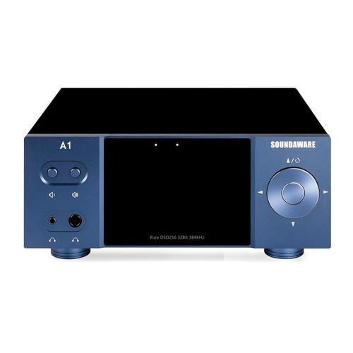Soundaware A1 Streaming Desktop Network Player with Remote Control Digital Turntable Decoding Amplifier Roon Ready Supported