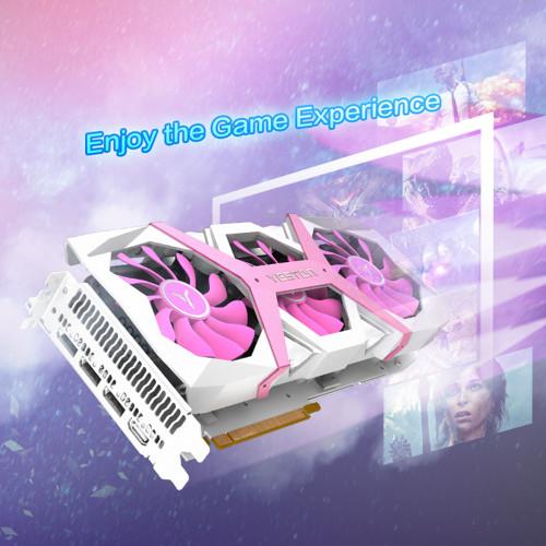 Yeston Radeon RX 5700 XT GPU 8GB GDDR6 256bit 7nm Gaming Desktop computer PC Video Graphics Cards support DP/HDMI PCI-E X16 3.0