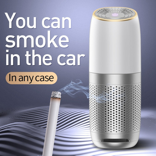 Mini Portable Car Air Purifier USB HEPA Fresh Air Negative Ion Cleaner Oxygen Removes PM2.5 Smoke Odors ionizer