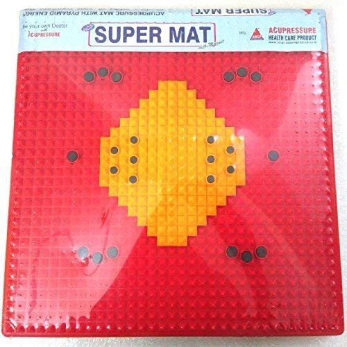Acupressure India ACi Acupressure Mat Reflexology Magnetic Pyramidal Therapy Energy for Pain Relief