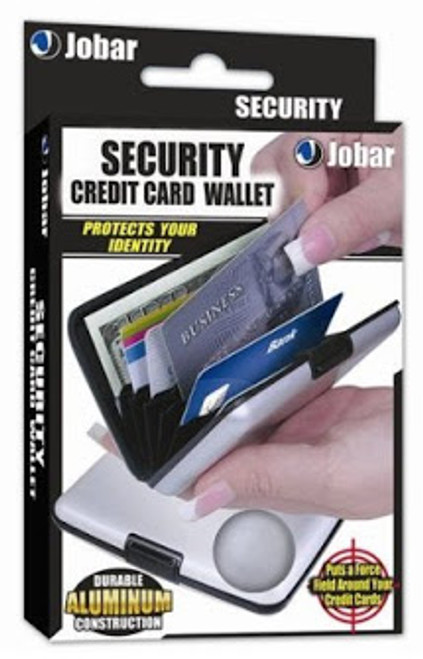 Security Credit Card Wallet A Stylish Aluminum Wallet-Buy 1 Get 1 Free