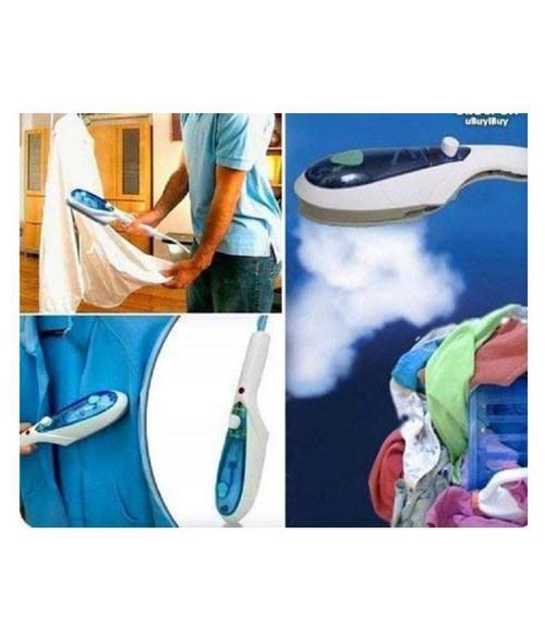 Tobi portable Travel Steamer/Steam Iron/Wrinkle Remover/Machine for Cloths/Garment |White