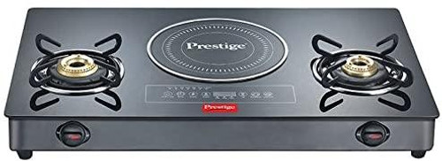 Prestige Hybrid - Glass Top Gas Table Combi Cooktop GTIC 03 L