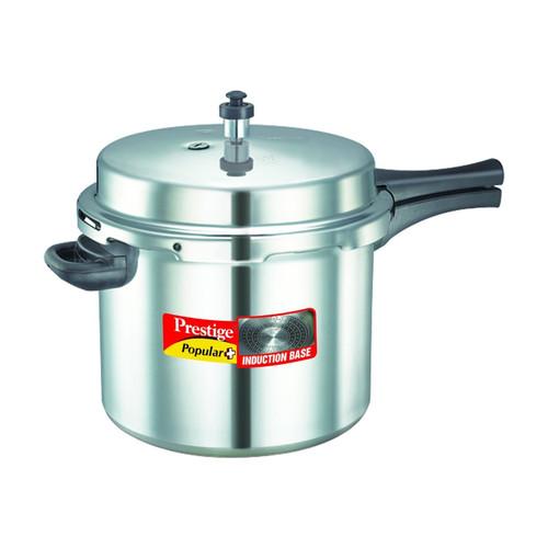 restige Popular Plus Induction Base Pressure Cooker, 10 Litres, SilverPrestige Popular Plus Induction Base Pressure Cooker, 10 Litres, Silver