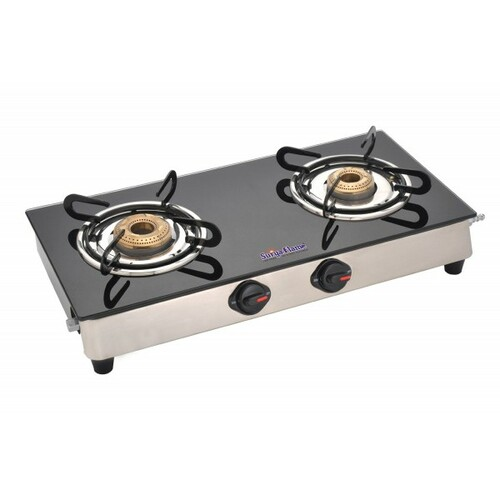 SURYA FLAME 2B REGAL BLK SS NA GAS STOVE